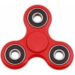 Fidget Tri Hand Spinner Antiestres Rojo