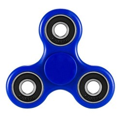Fidget Tri Hand Spinner Antiestres Azul